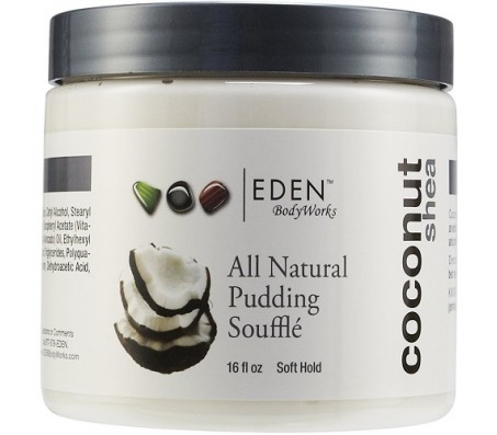 EDEN BODY WORKS Coconut Shea All Natural Pudding Souffle 16oz