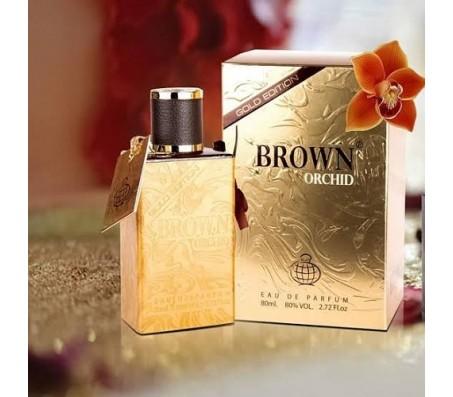 Brown Orchid Gold Edition Eau De Parfum 80ml