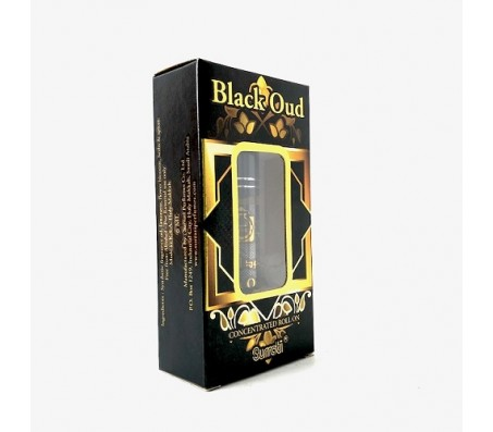 Surrati Black Oud Concentrated Roll On - 6ml