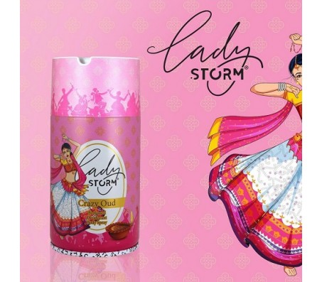 Lady Storm Crazy Oud Deodorant for Women 250ml