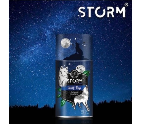 Storm Wolf Trap Perfumed Body Spray for Men - 250ml