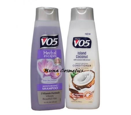 VO5 Herbal Escapes Moisturizing Shampoo and Island Coconut Conditioner