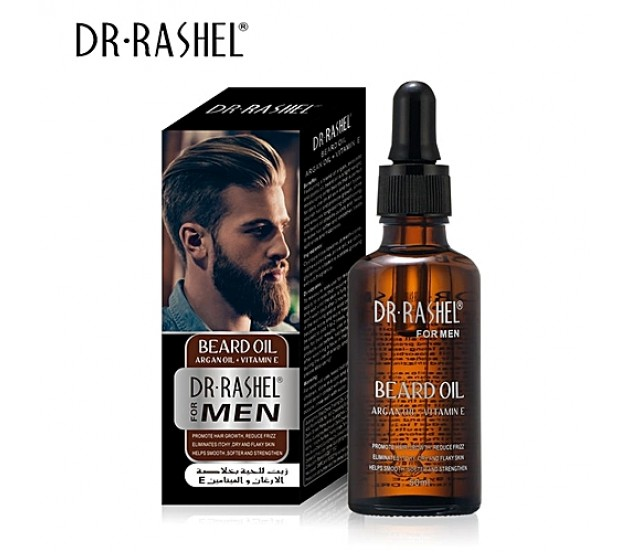Dr Rashel Beard Oil With Argan Oil Vitamin E 50ml