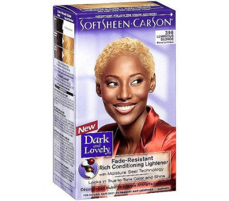 Dark And Lovely Softsheen Carson Color 396 Luminous Blonde