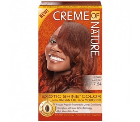 Creme Of Nature Hair Color | Bronze Copper