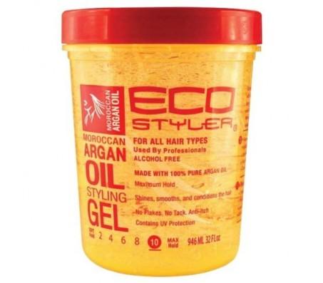 Ecostyler Moroccan Argan Oil Styling Gel - 710ml 24floz