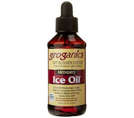Groganics Dht Ice Oil Scalp Moisturizer, 4 Oz