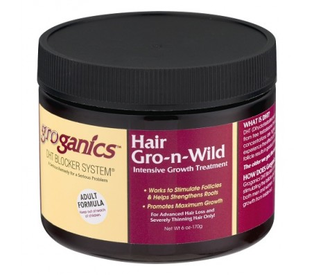 Groganics Hair Gro -n- Wild Intensive Growth Treatment 6oz