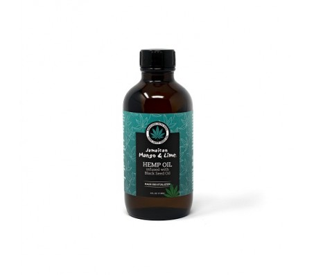 Jamaican Mango & Lime Hemp Seed Oil infused with Black Seed Oil - 118ml