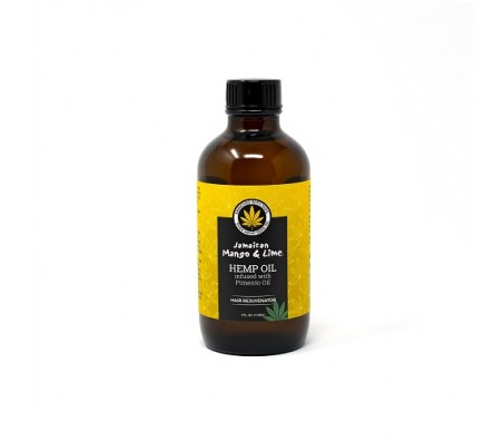 Jamaican Mango & Lime Hemp Seed Oil infused with Pimento Oil - 118ml