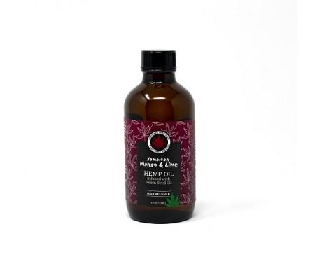 Jamaican Mango & Lime Hemp Seed Oil infused with Neem Seed Oil - 118ml/4fl.oz