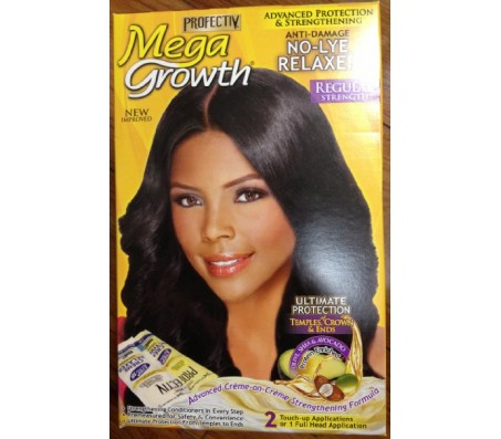 Mega Growth No-Lye Relaxer-Regular