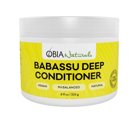 Obia Naturals Babassu Deep Conditioner, 8oz