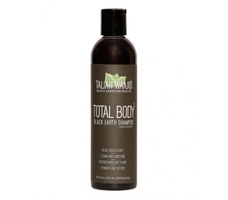 Taliah Waajid Total Body Natural Black Earth Shampoo 8oz
