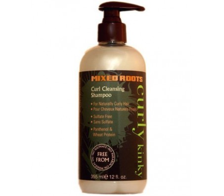 Mixed Roots Curl Cleansing Shampoo - 355ml