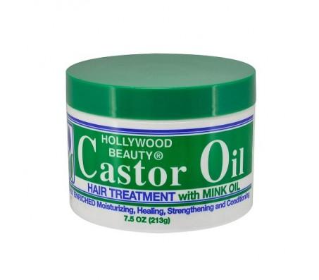 Hollywood Beauty Caster Oil Hair Treatment 213g