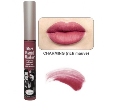 The Balm Meet Matt(e) Hughes Liquid Lipstick - Charming