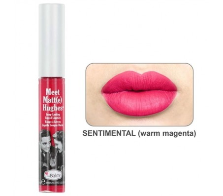 The Balm Meet Matt(e) Hughes Liquid Lipstick - Sentimental