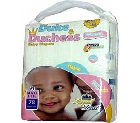 Duke & Duchess Baby Diaper - Size 4