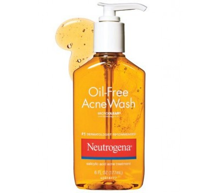 Neutrogena Oil-Free Acne Wash-9.1 oz