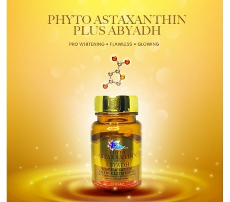 DS Phyto Astaxanthin Plus Abyadh - 30 Capsules
