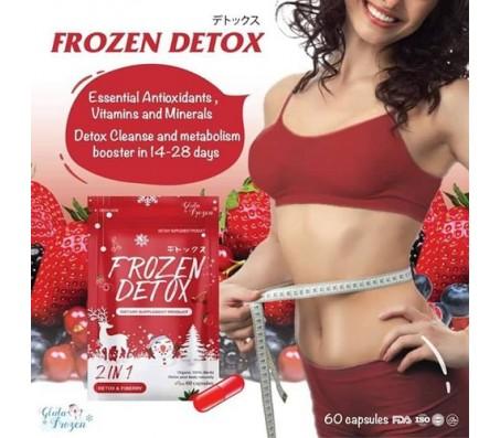 Frozen Detox Dietary Supplement Product - 60 Capsules