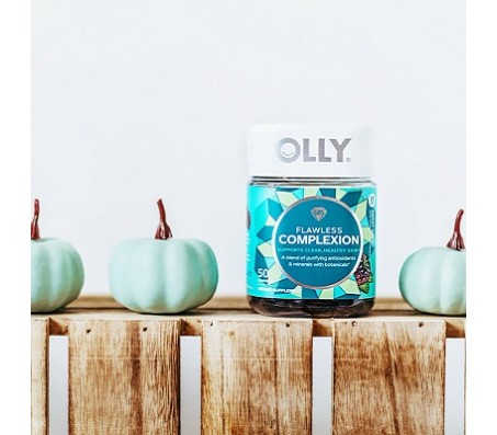 Olly Flawless Complexion Gummies - 50 Gummies