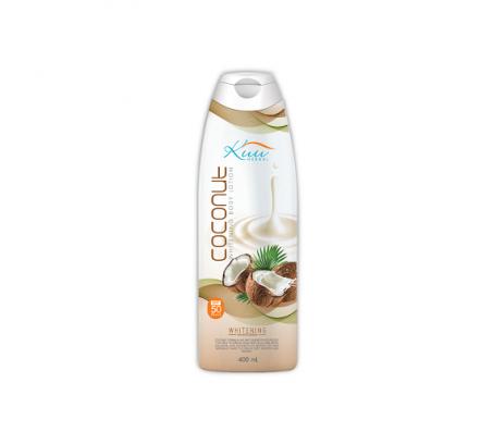 Kuu Herbal Coconut Whitening Body Lotion 400ml