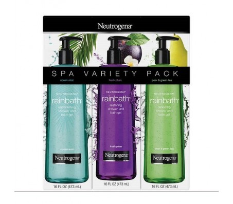 Neutrogena Rainbath Bath Gel - Variety Pack (3 X 473ml)
