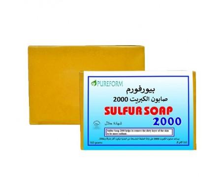 Pureform Sulfur Soap 2000 - 160g