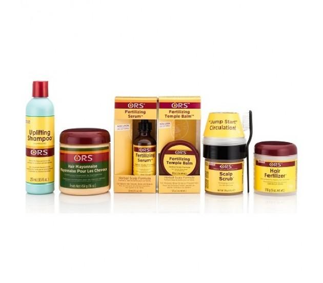 Ors Hair Care Set Shampoo Mayonnaise Serum Scalp Balm And Fertilizer