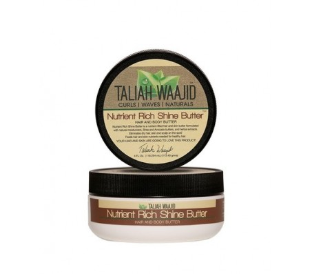 Taliah Waajid Nutrient Rich Shine Hair & Body Butter - 4 oz
