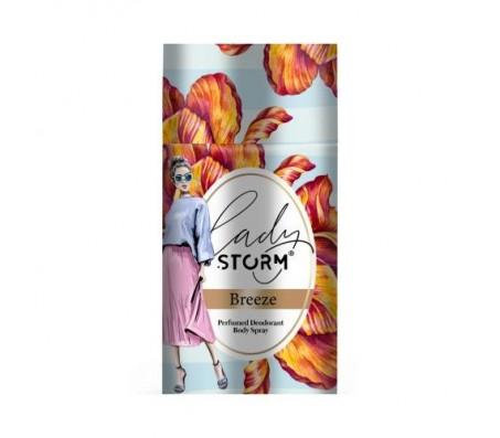 Lady Storm Perfumed Deodorant Body Spray - Breeze 250ml