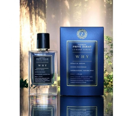 Prive Zarah Why Edp - Pour Homme - 80ml