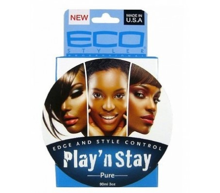 Eco Styler Play N Stay Edge & Style Control Pure Pomade