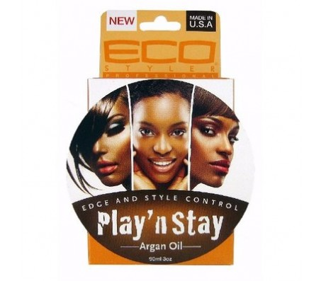 Eco Styler Play N Stay Edge & Style Control Argan Oil Pomade