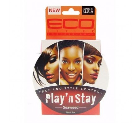 Eco Styler Play N Stay Edge & Style Control Seaweed Pomade