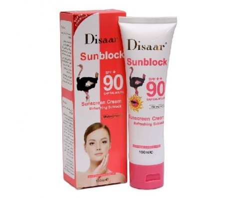 DISAAR MOISTURISING SUNBLOCK SPF 90 -100ml