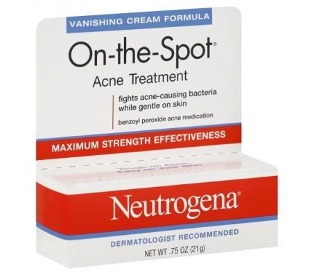 Neutrogena On-The-Spot Acne Treatment With Benzoyl Peroxide - 0.75oz