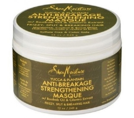 SheaMoisture Shea Moisture Organic Yucca & Plantain Anti-Breakage Masque