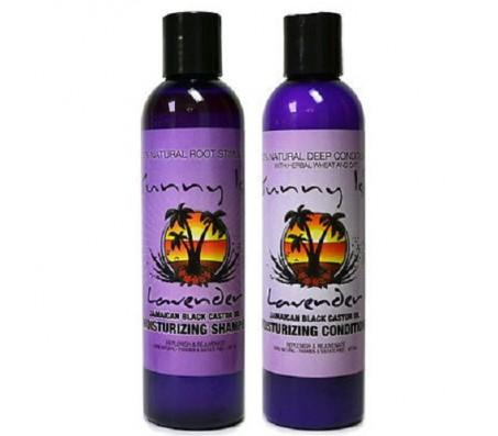 Jamaican Black Castor Oil Lavender Moisturizing Deep Shampoo And Conditioner
