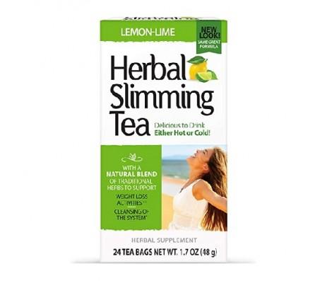 21st Century Herbal Slimming Tea - Lemon-Lime - 24 Tea Bags