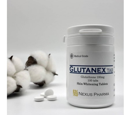 Glutanex Glutathione Skin Whitening Tablets 100 Tabs