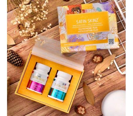 Satin Skinz Glutathione Plus & Astaxanthin Plus