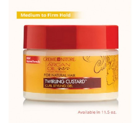 Creme of Nature Twirling Custard Curl Defining Jelly - 11.5oz
