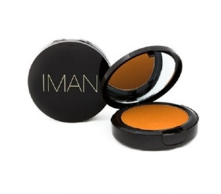 Iman Luxury Pressed Powder - Earth Dark
