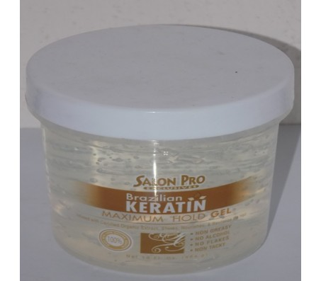 Salon Pro Brazillian Keratin Maximum Hold Gel