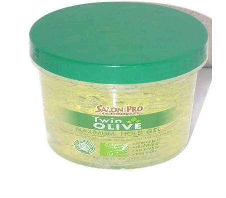 Salon Pro Twin Olive Maximum Hold Gel